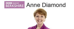 Anne Diamond on Radio Berkshire